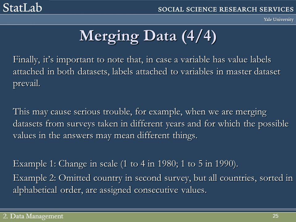Merging Data (4/4)
