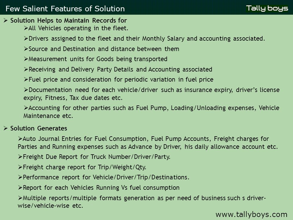 Few Salient Features of Solution