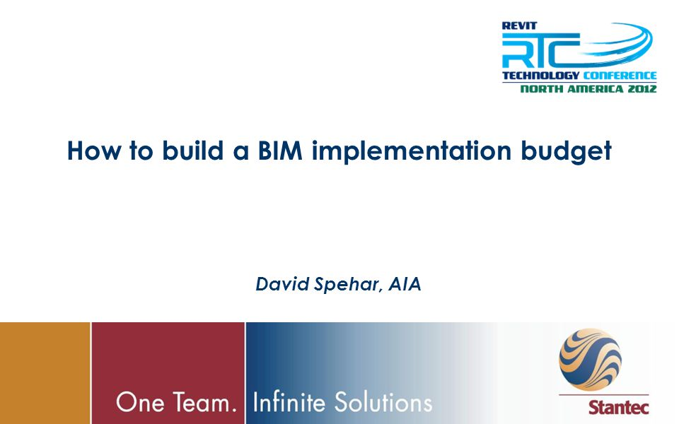 How to build a BIM implementation budget