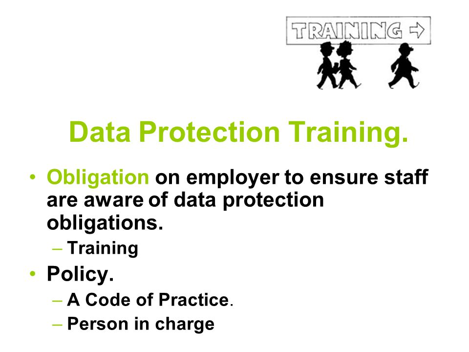 Data Protection Training.