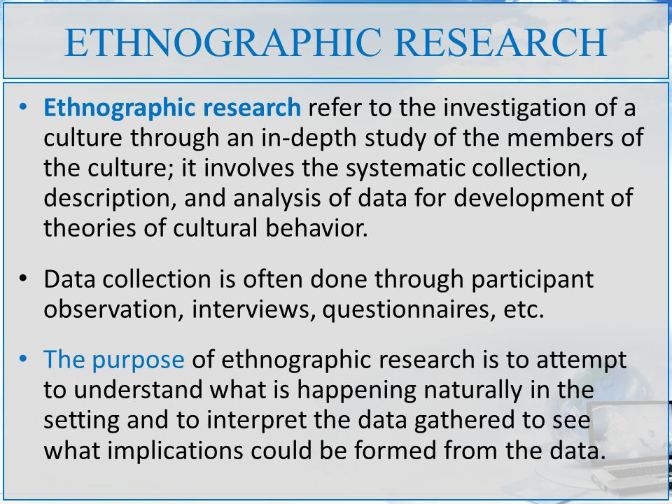 What Is The Purpose Of An Ethnographic Study? - YouTube