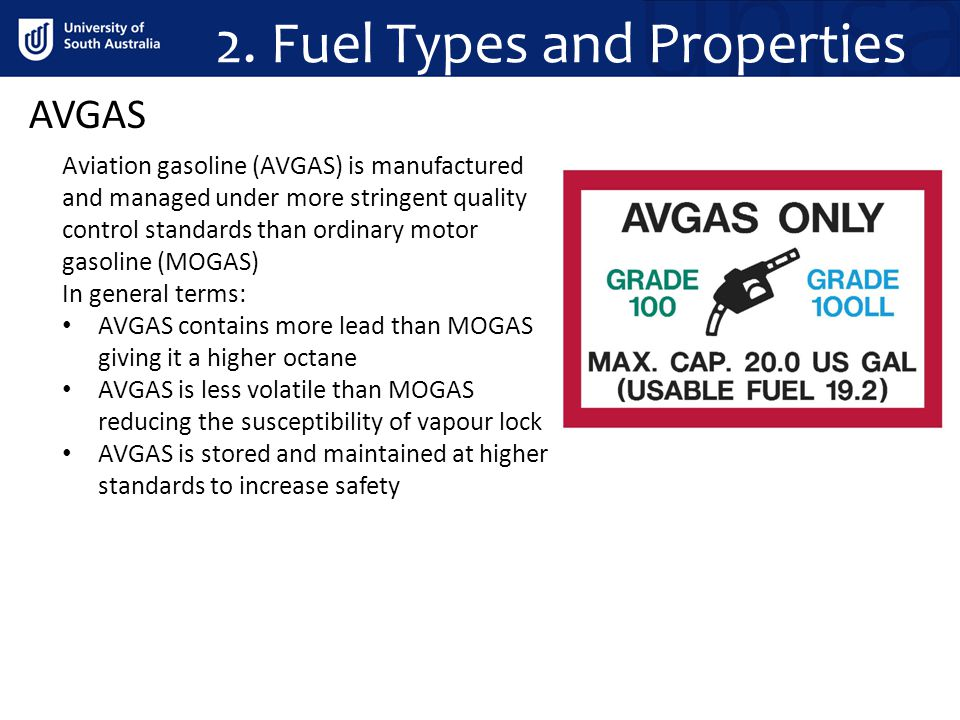 2. Fuel Types and Properties