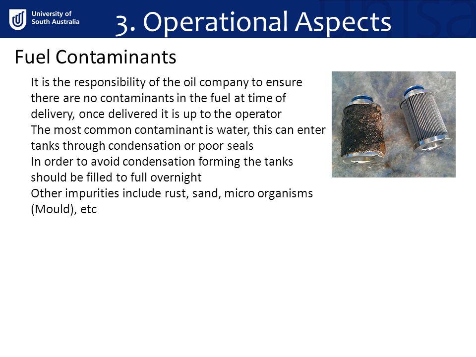 3. Operational Aspects Fuel Contaminants
