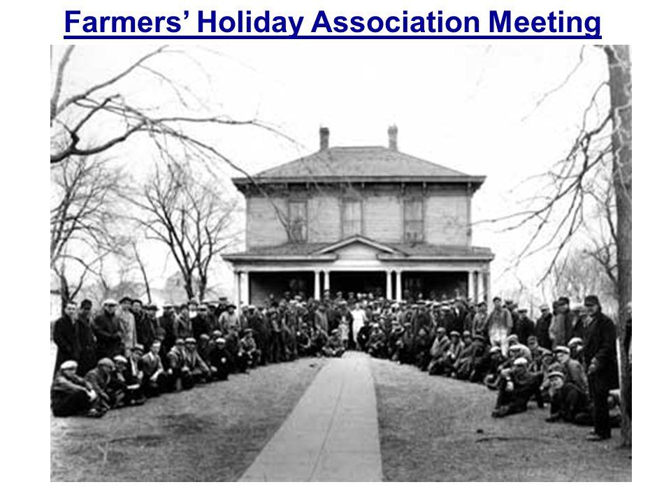 Farmers' Holiday Association Meeting