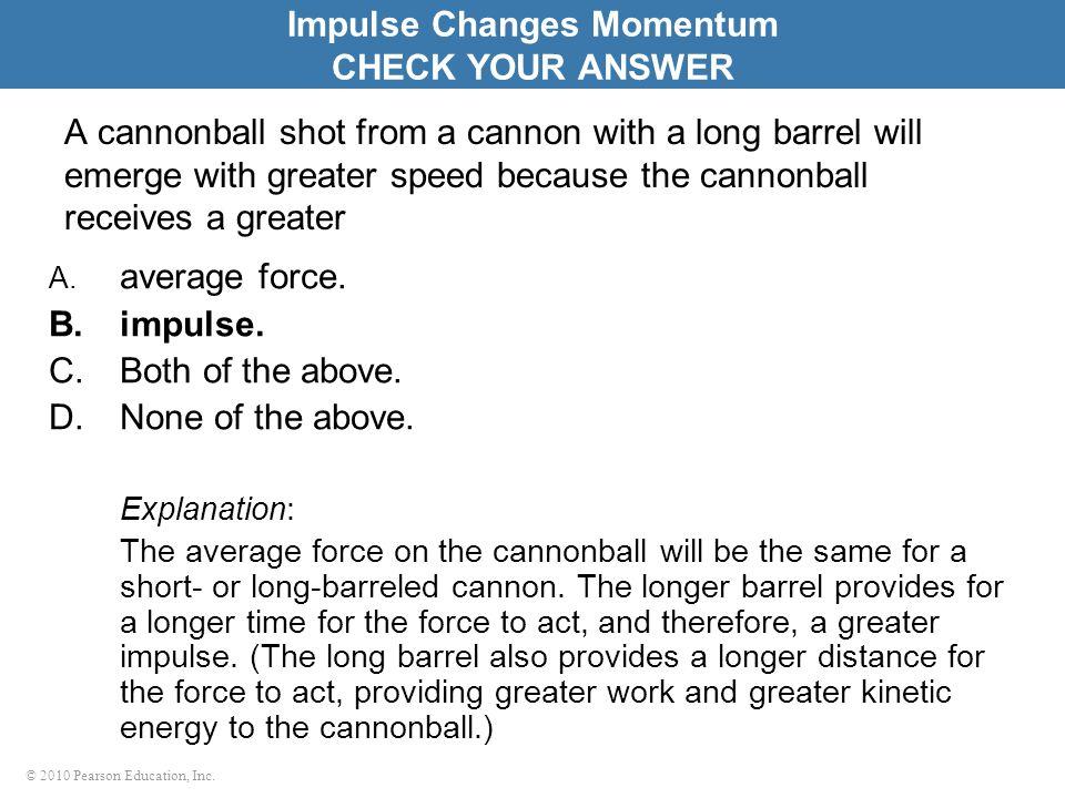 Impulse Changes Momentum