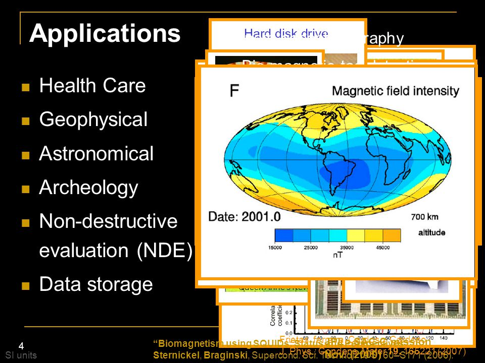 Applications Health Care Geophysical Astronomical Archeology
