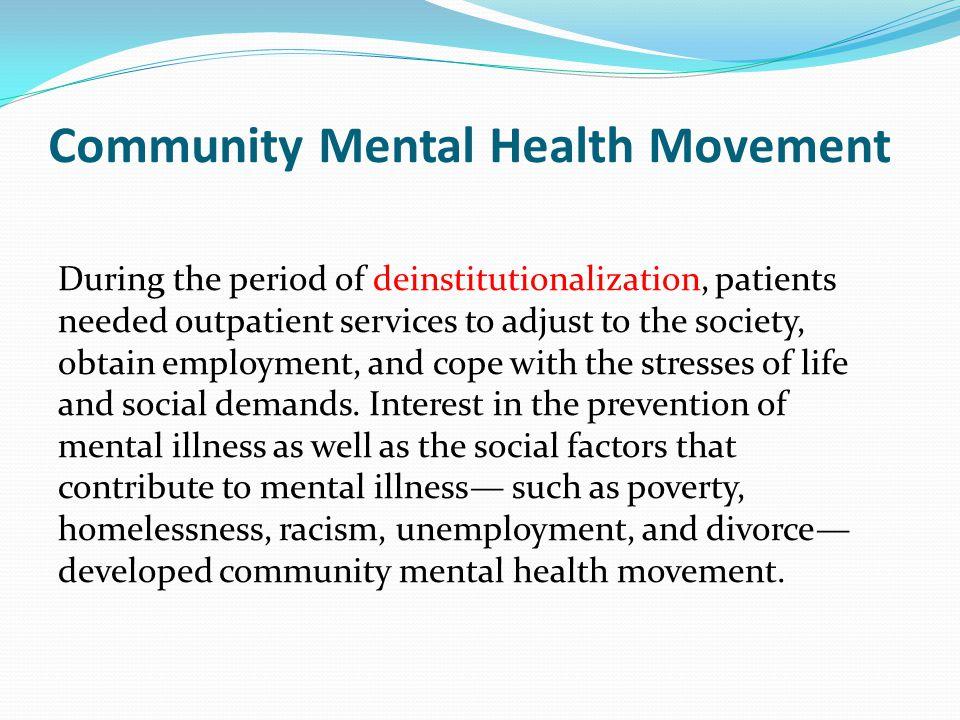 Community Mental Health Movement