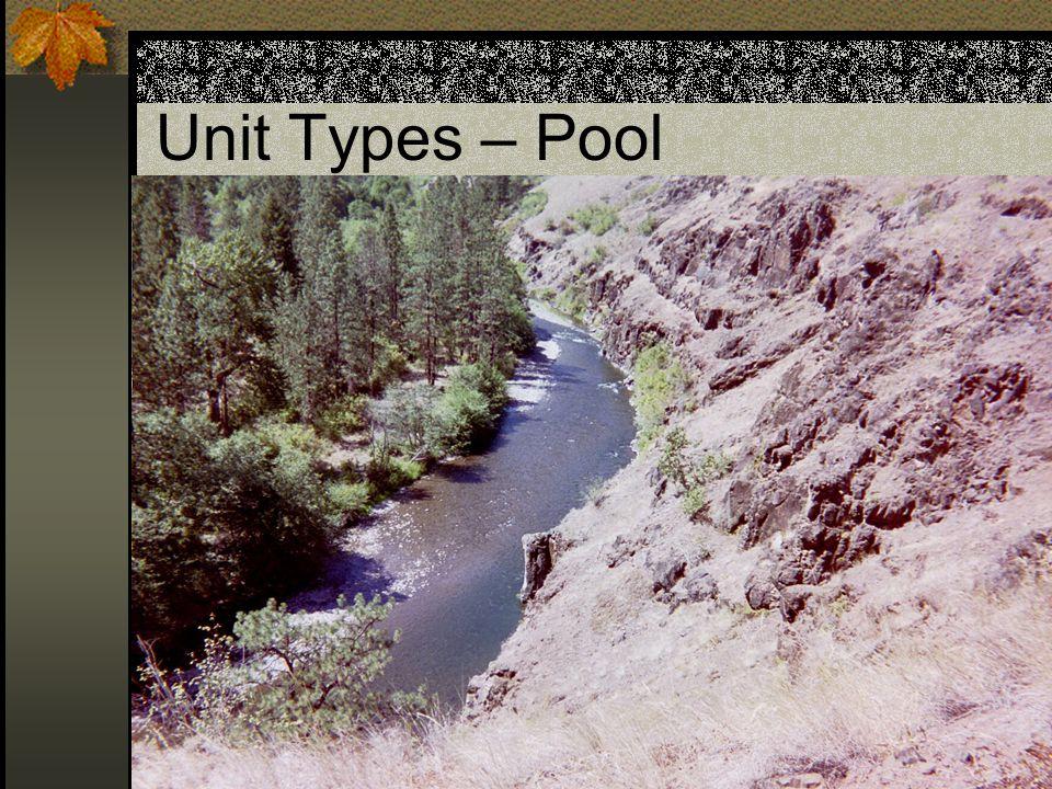 Unit Types – Pool