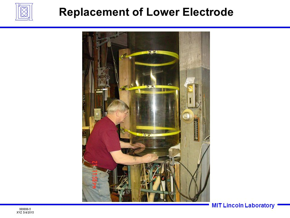 Replacement of Lower Electrode