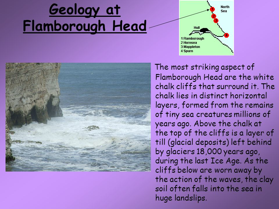 Geology at Flamborough Head