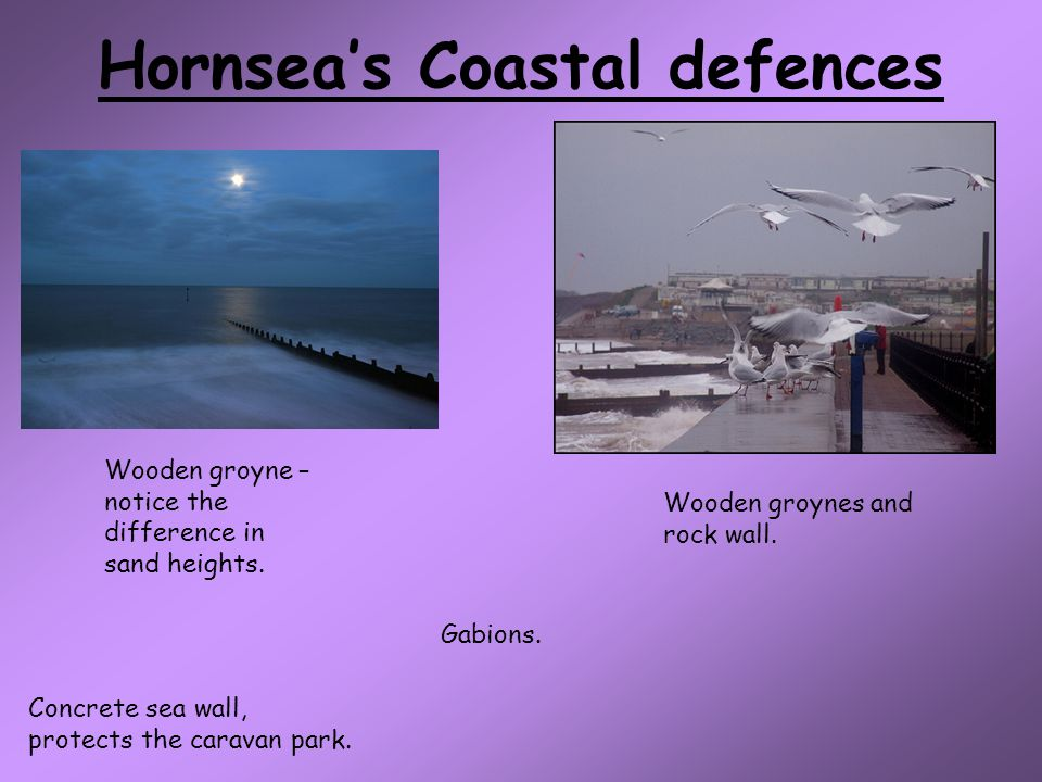 Hornsea's Coastal defences