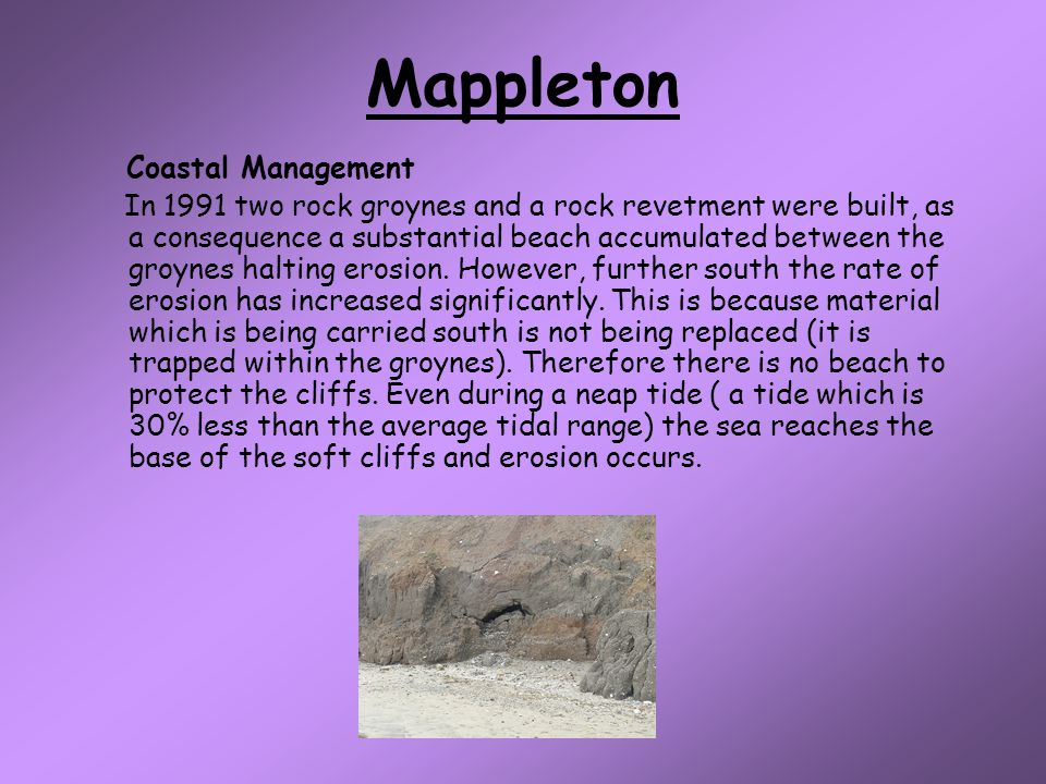 Mappleton Coastal Management
