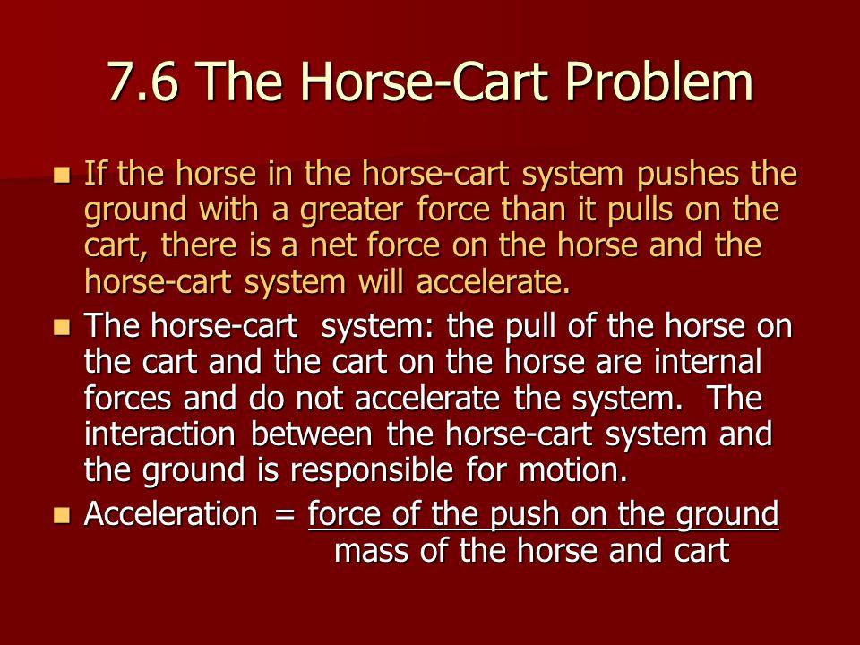 7.6 The Horse-Cart Problem