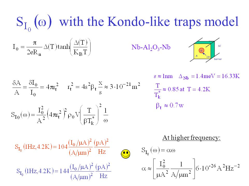 with the Kondo-like traps model