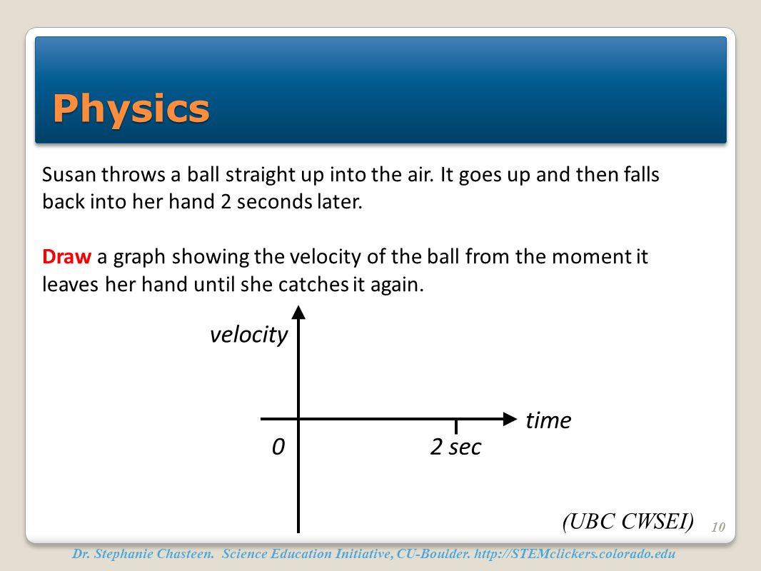 Physics velocity time 2 sec
