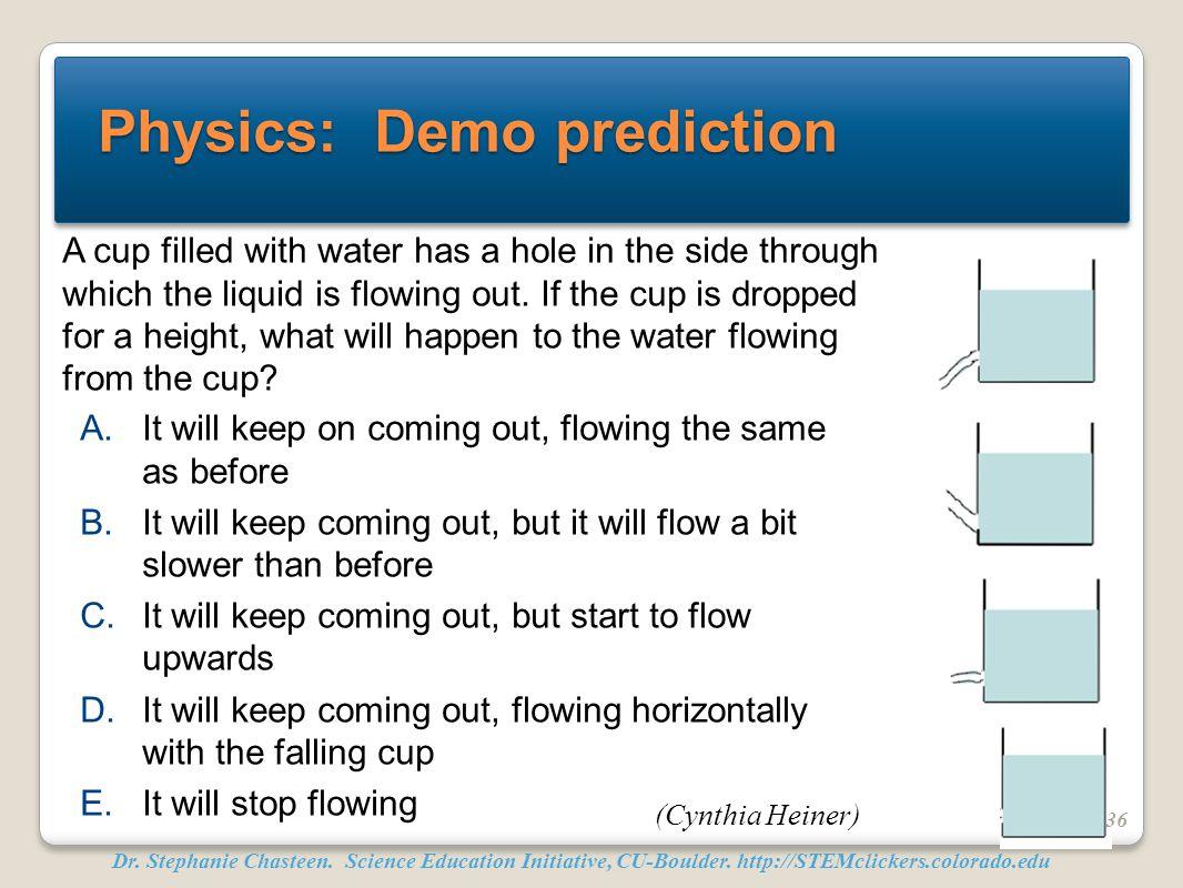 Physics: Demo prediction