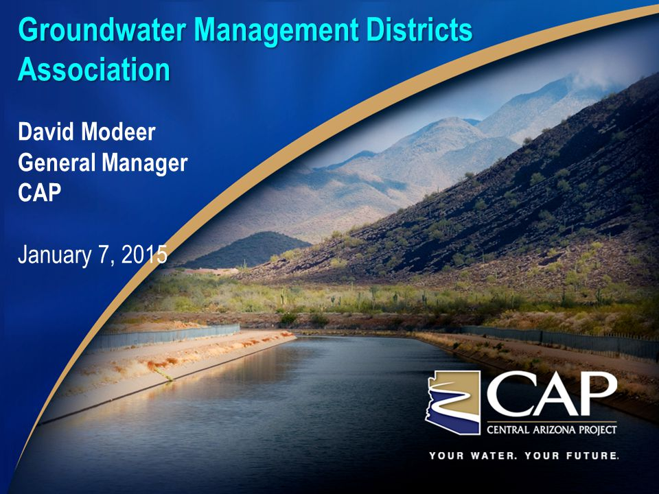 Groundwater Management Districts Association