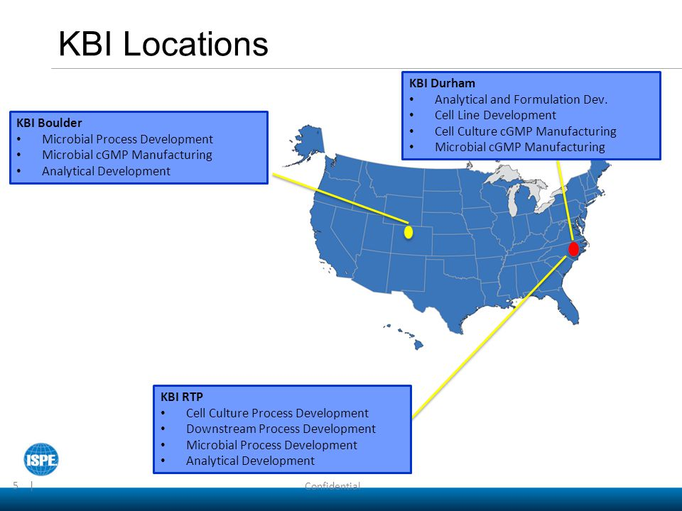 KBI Locations KBI Durham Analytical and Formulation Dev.