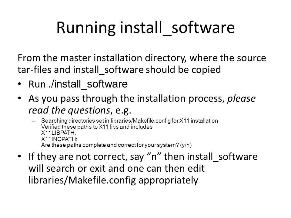 Running install_software