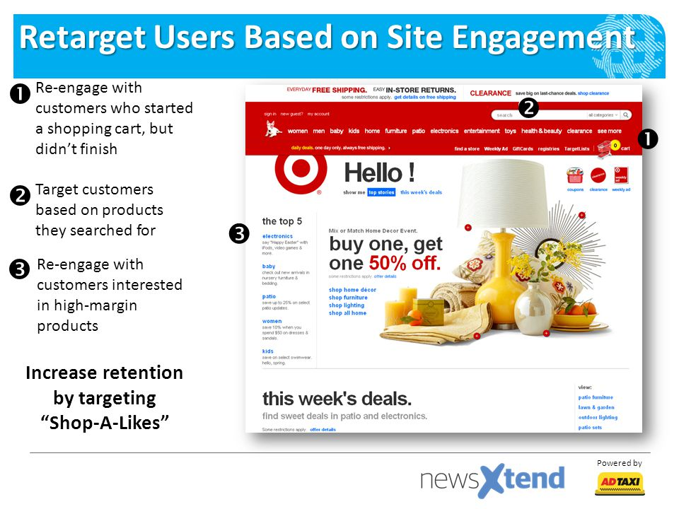 Retarget Users Based on Site Engagement
