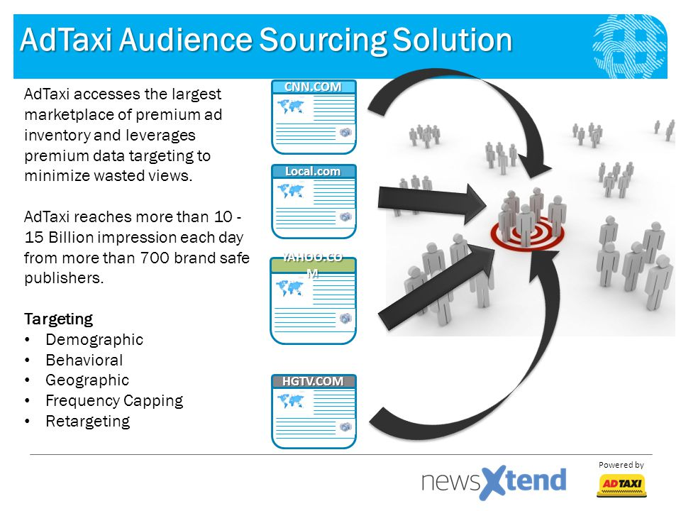 AdTaxi Audience Sourcing Solution