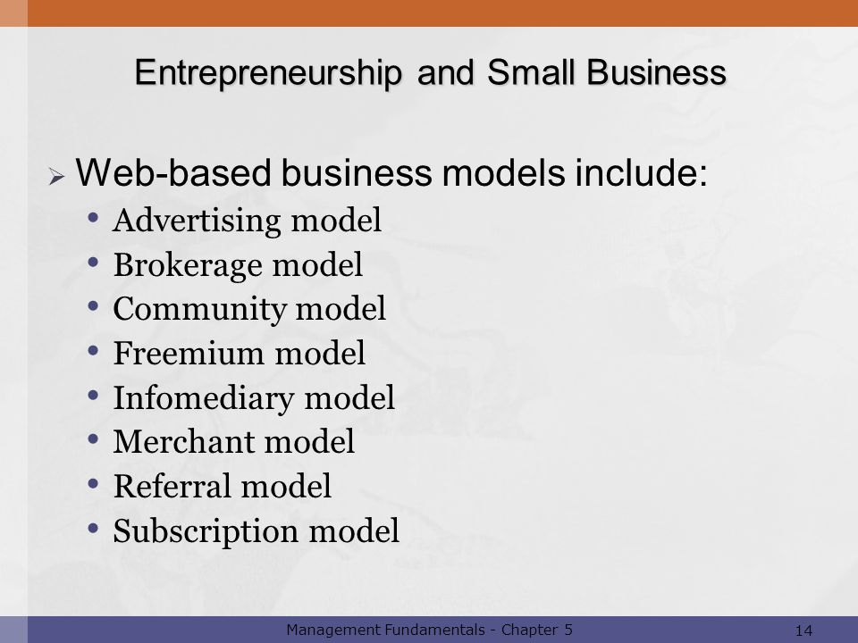 Web-based business models include: