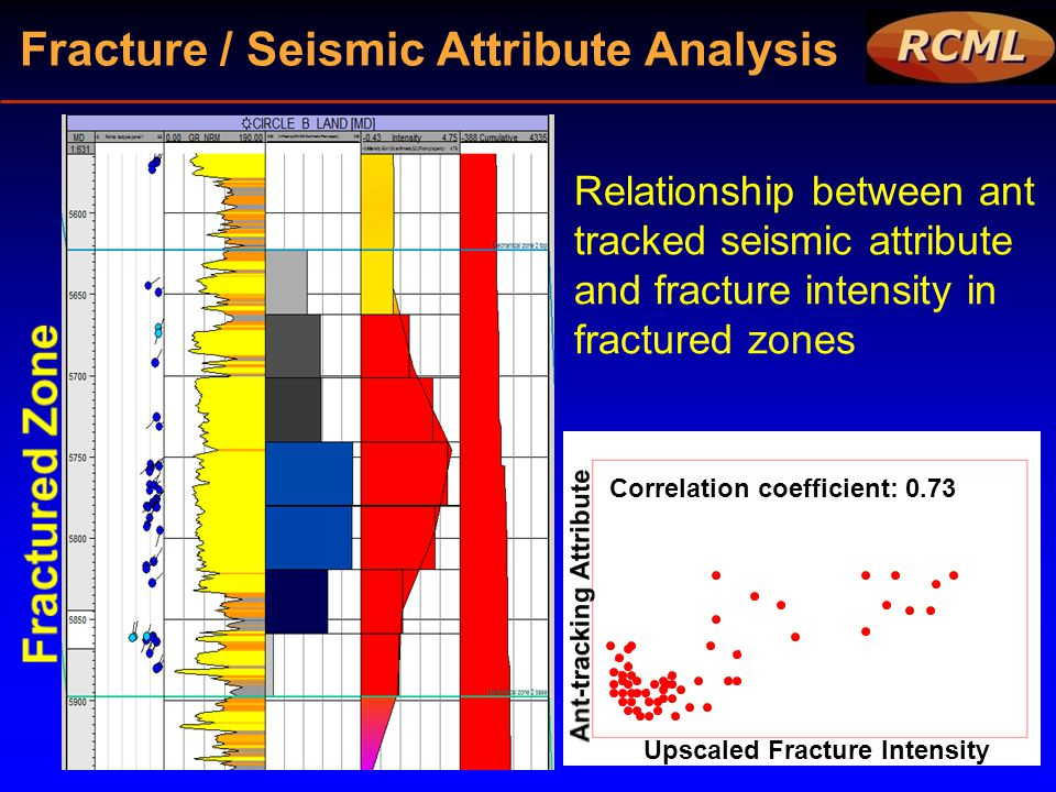 Fracture / Seismic Attribute Analysis