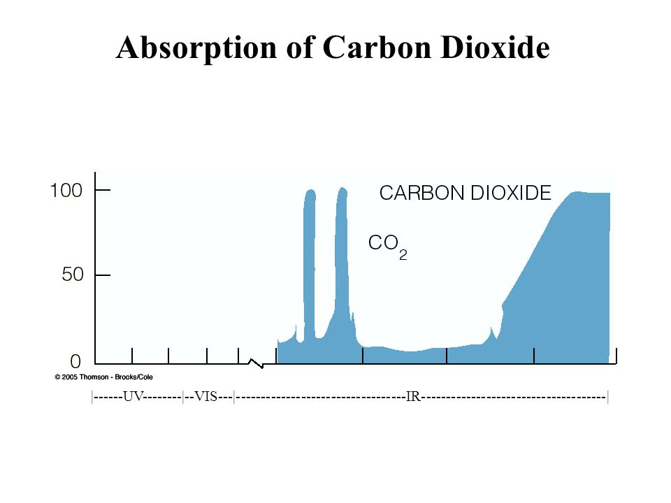 Absorption of Carbon Dioxide