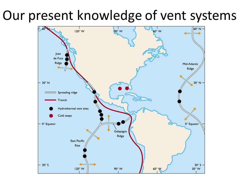 Our present knowledge of vent systems