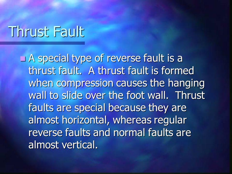 Thrust Fault