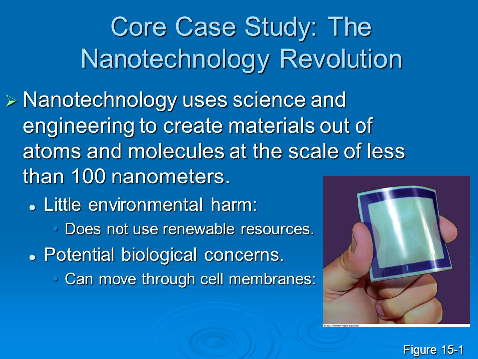 Core Case Study: The Nanotechnology Revolution