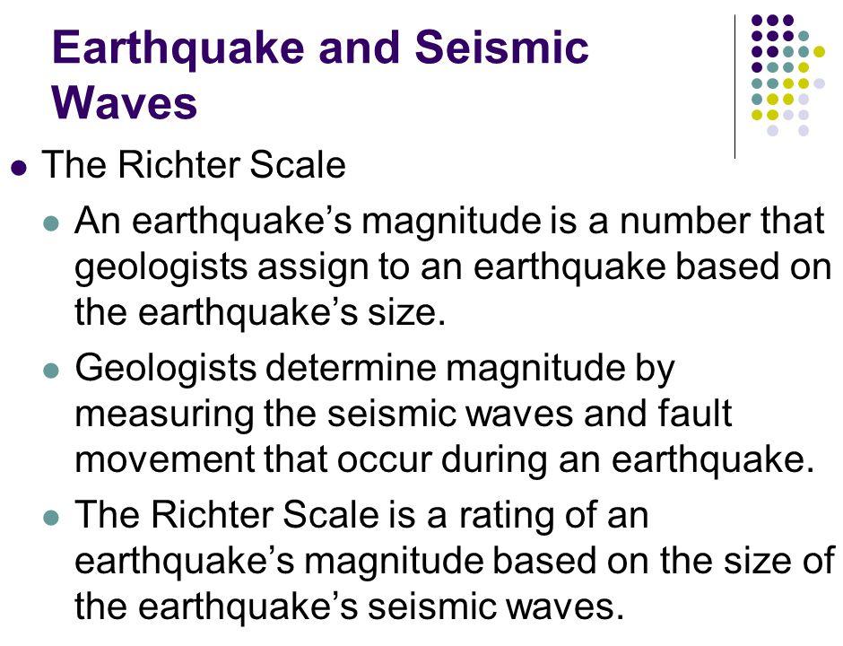 Earthquake and Seismic Waves