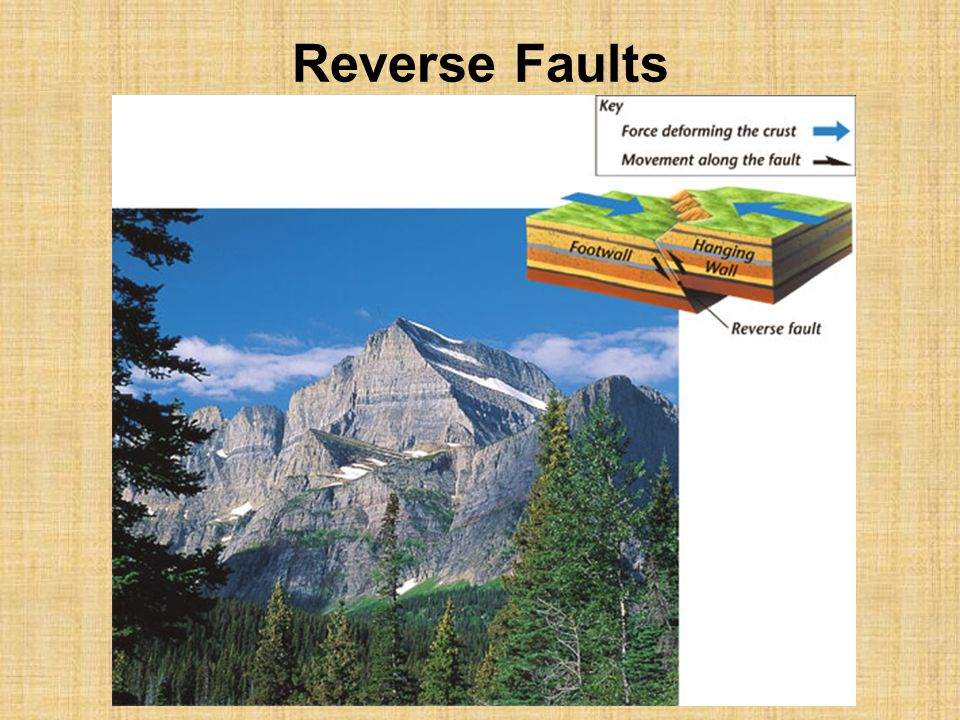 Reverse Faults