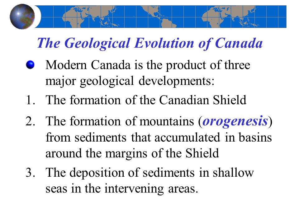 The Geological Evolution of Canada