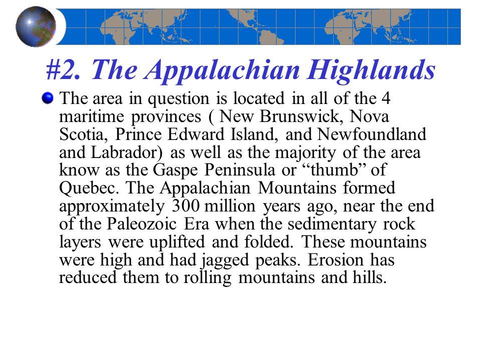 #2. The Appalachian Highlands