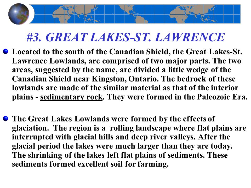 #3. GREAT LAKES-ST. LAWRENCE