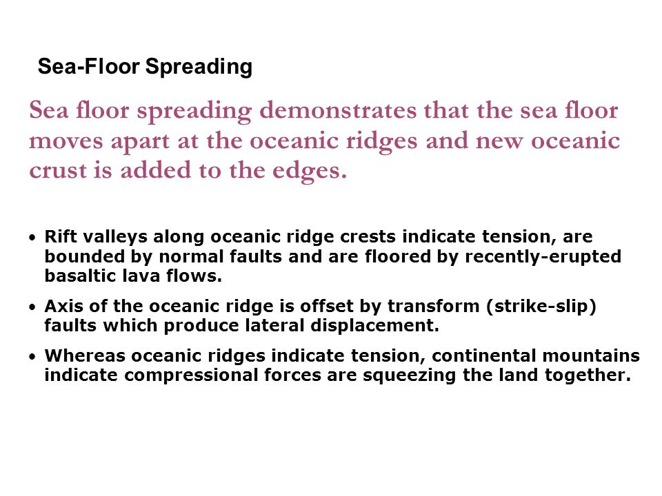 3-2 Sea-Floor Spreading.