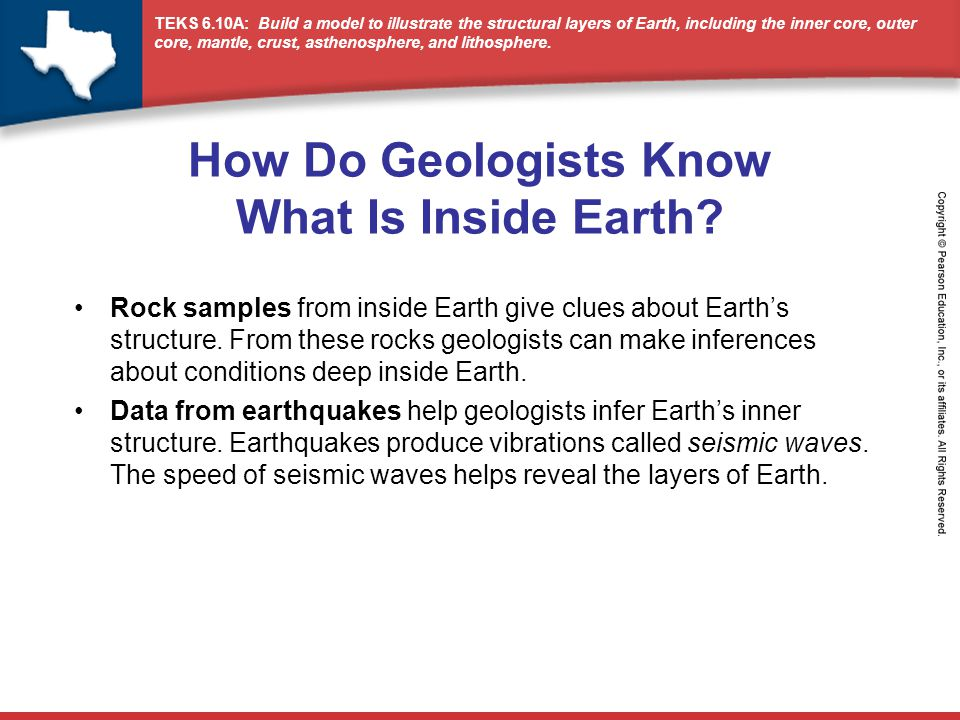 How Do Geologists Know What Is Inside Earth