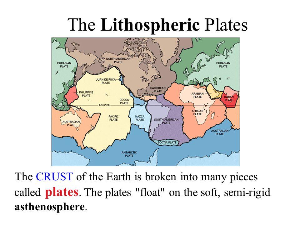 The Lithospheric Plates