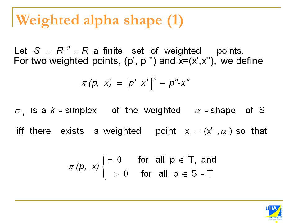 Weighted alpha shape (1)