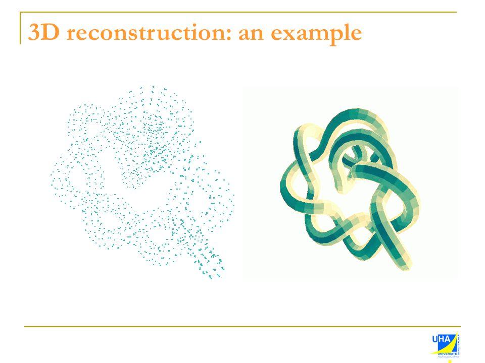 3D reconstruction: an example