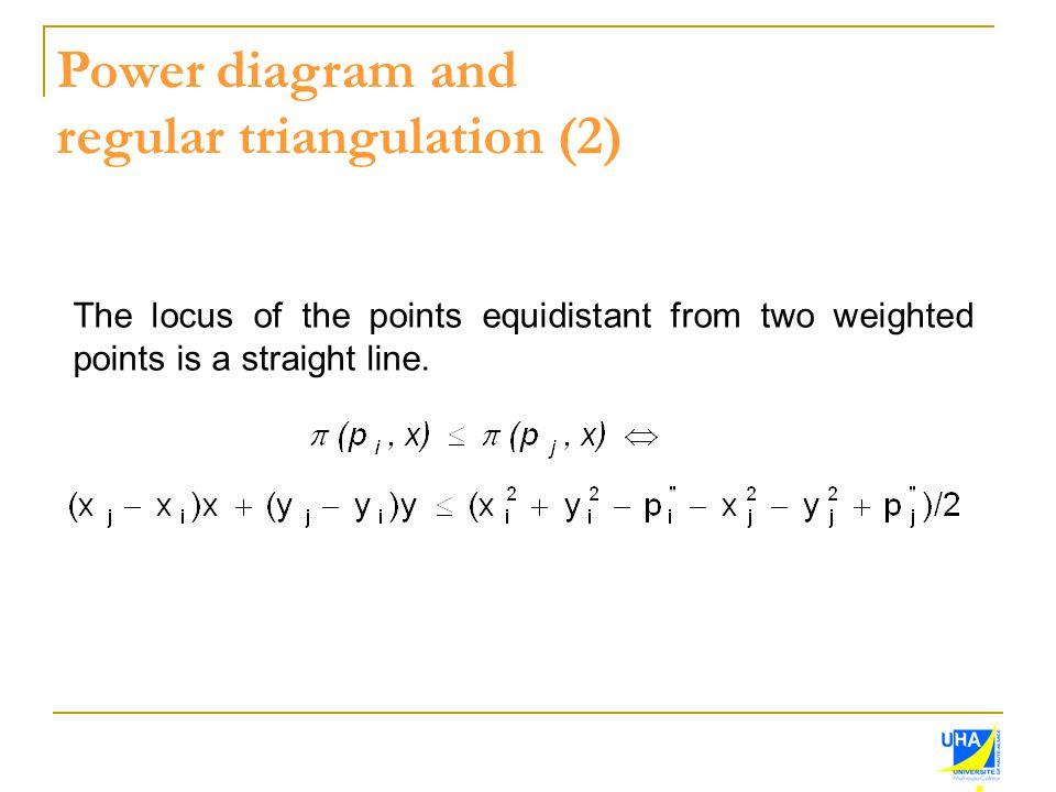regular triangulation (2)