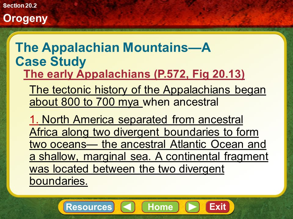 The Appalachian Mountains—A Case Study