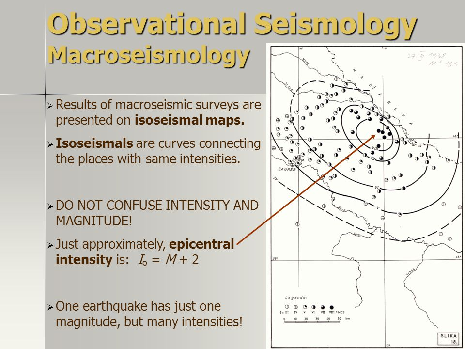Observational Seismology Macroseismology
