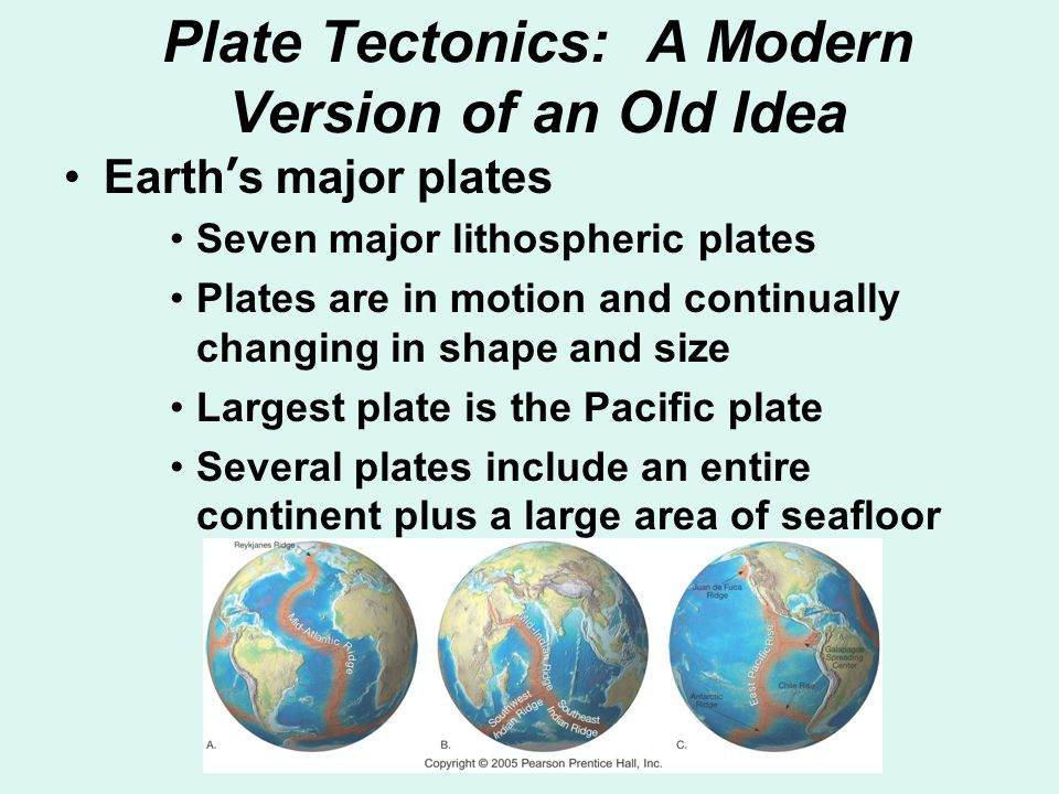 Plate Tectonics: A Modern Version of an Old Idea