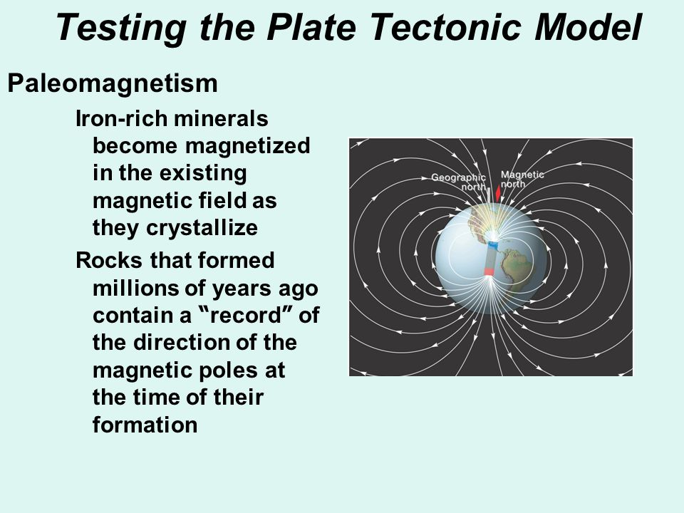 Testing the Plate Tectonic Model
