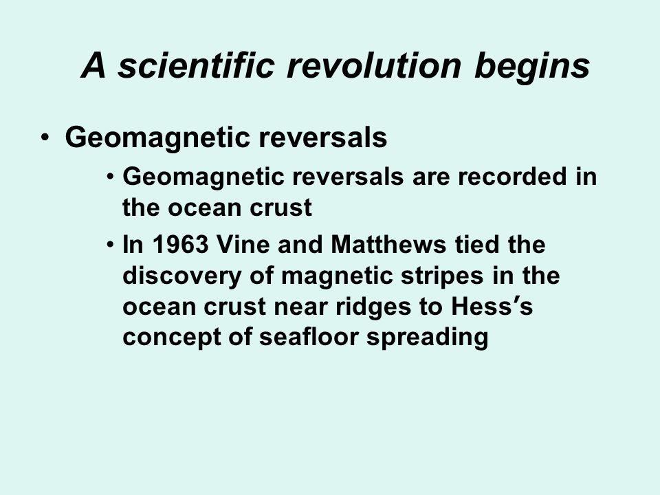 A scientific revolution begins