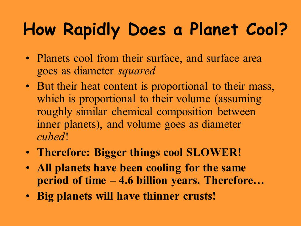 How Rapidly Does a Planet Cool