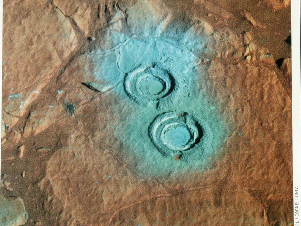 Mars drilling rock