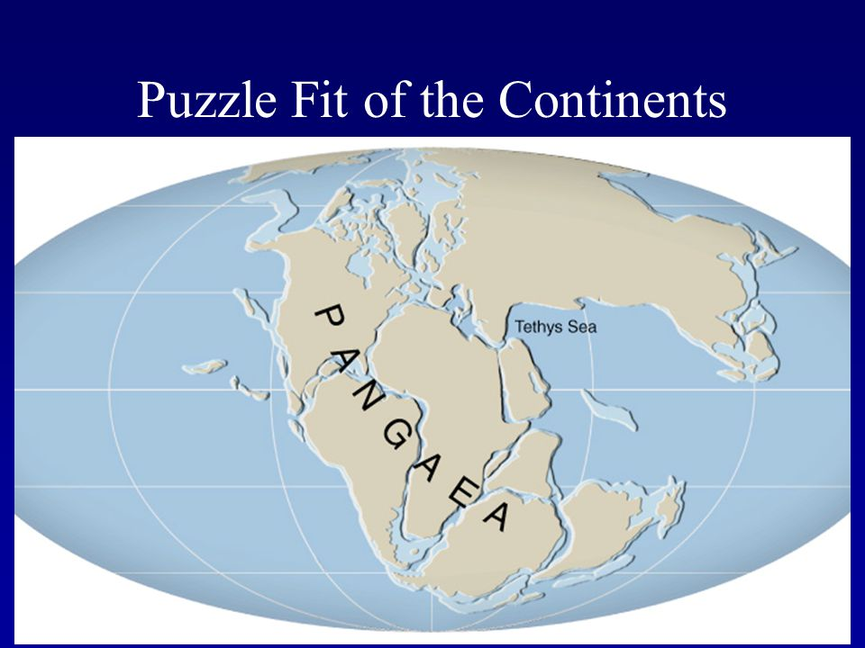 Puzzle Fit of the Continents